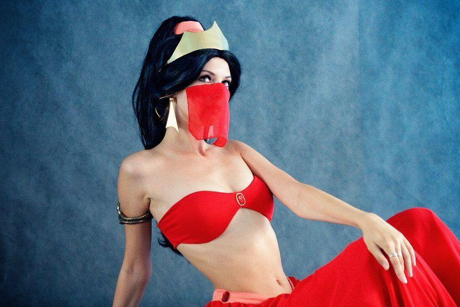 Princess Jasmine S Red Outfit Rei Doll On Deviantart Disney