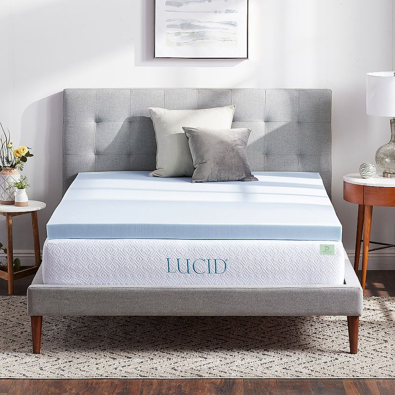 Dream Collection By Lucid 3 Surecool Gel Memory Foam Mattress