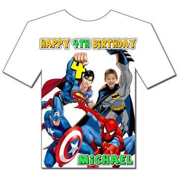 Details About Spider Man 3 Invitations 8 Super Hero
