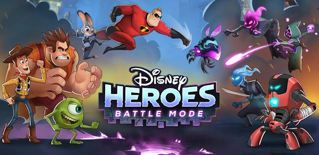 Disney Heroes: Battle Mode - free game app download | Free