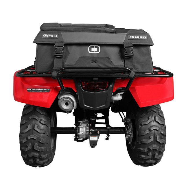"""Ogio ATV Burro Bag Rear: """"Dust Gasket"""" seal protects inside contents from rain, dust, mud, and snow. We could have used this the other day out on our ride !"""
