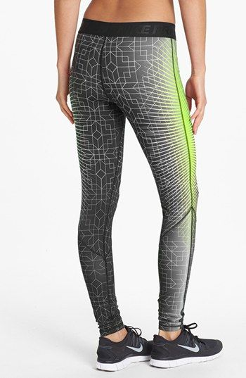 f42999f038247 Nike 'Pro Hyperwarm' Print Tights | Nordstrom | Fantasy Fitness ...