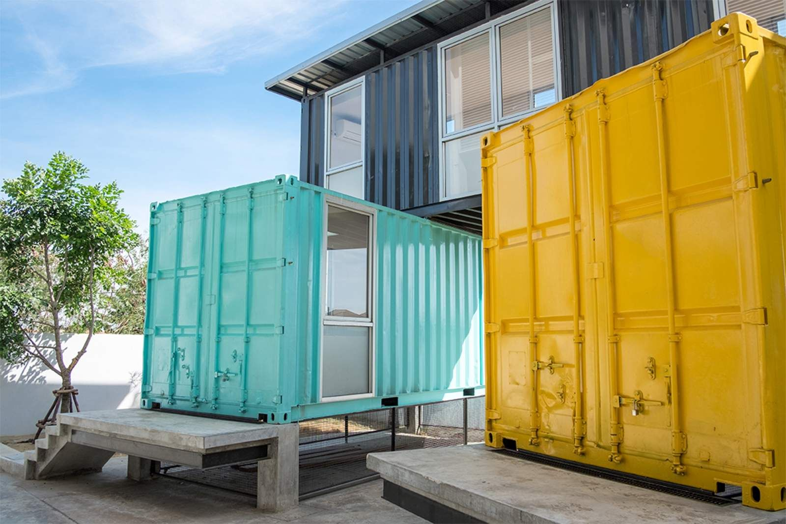 Cout maison container - Prix maison en container ...
