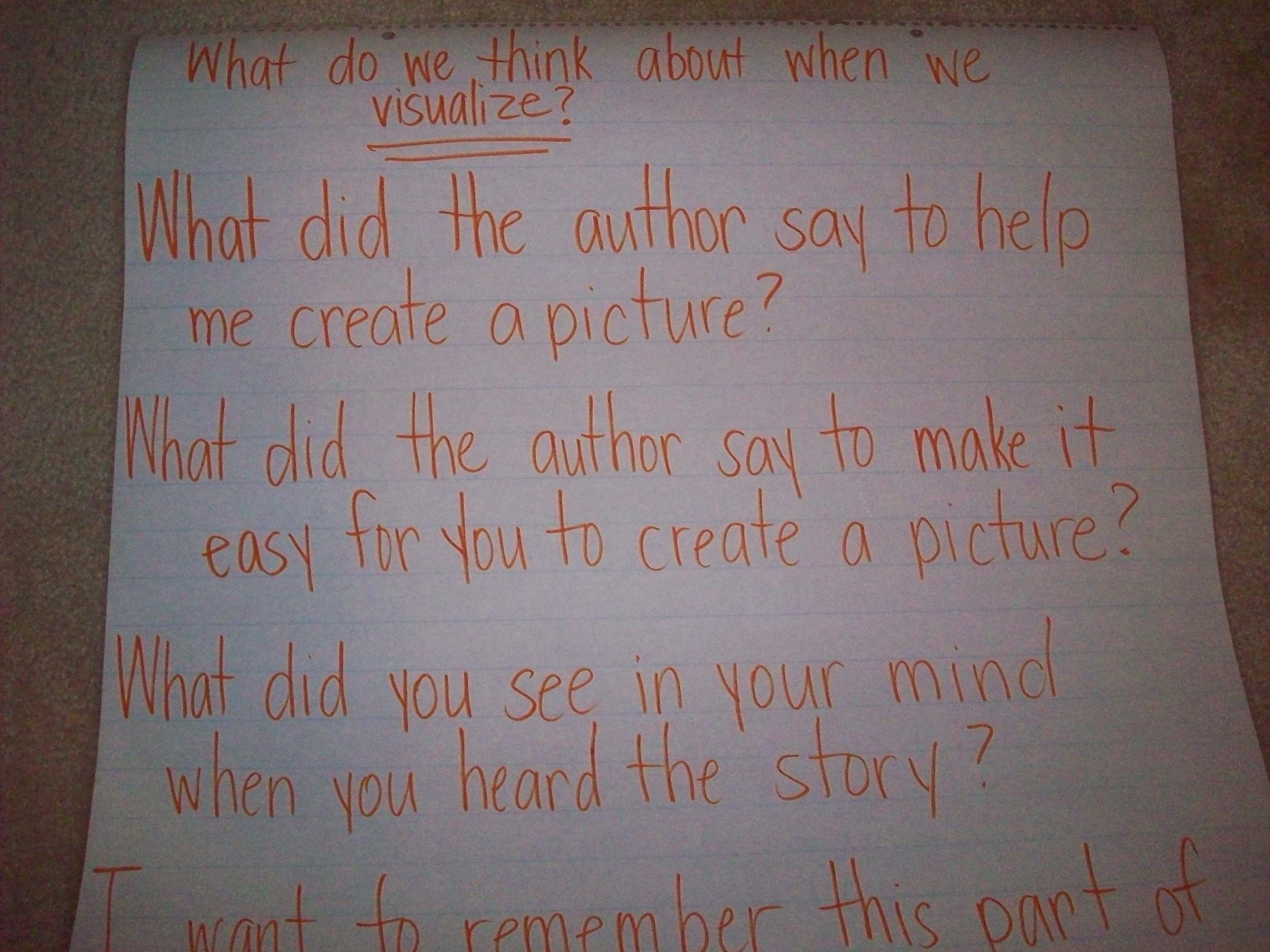 Visualizing Think Aloud