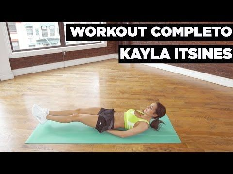 Workout de cuerpo entero con Kayla Itsines - YouTube