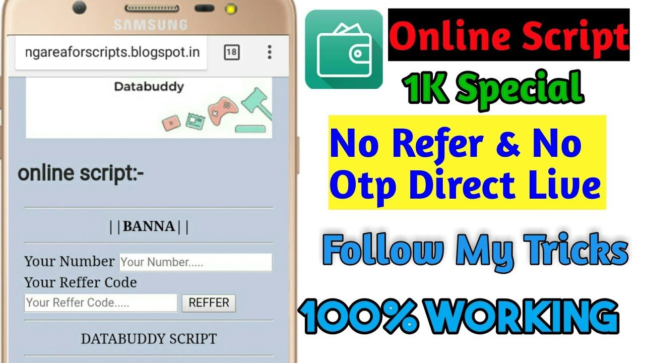How To Databuddy App Hack Trick Unlimted Refer With Online