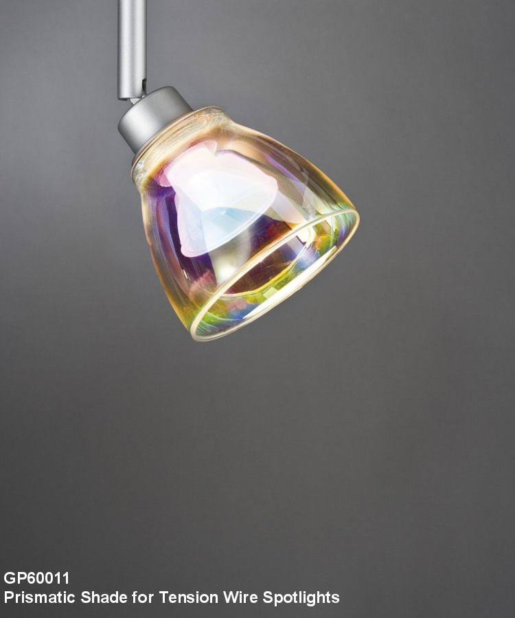 Tension Wire spotlights...in pretty prismatic finish. | Lighting ...