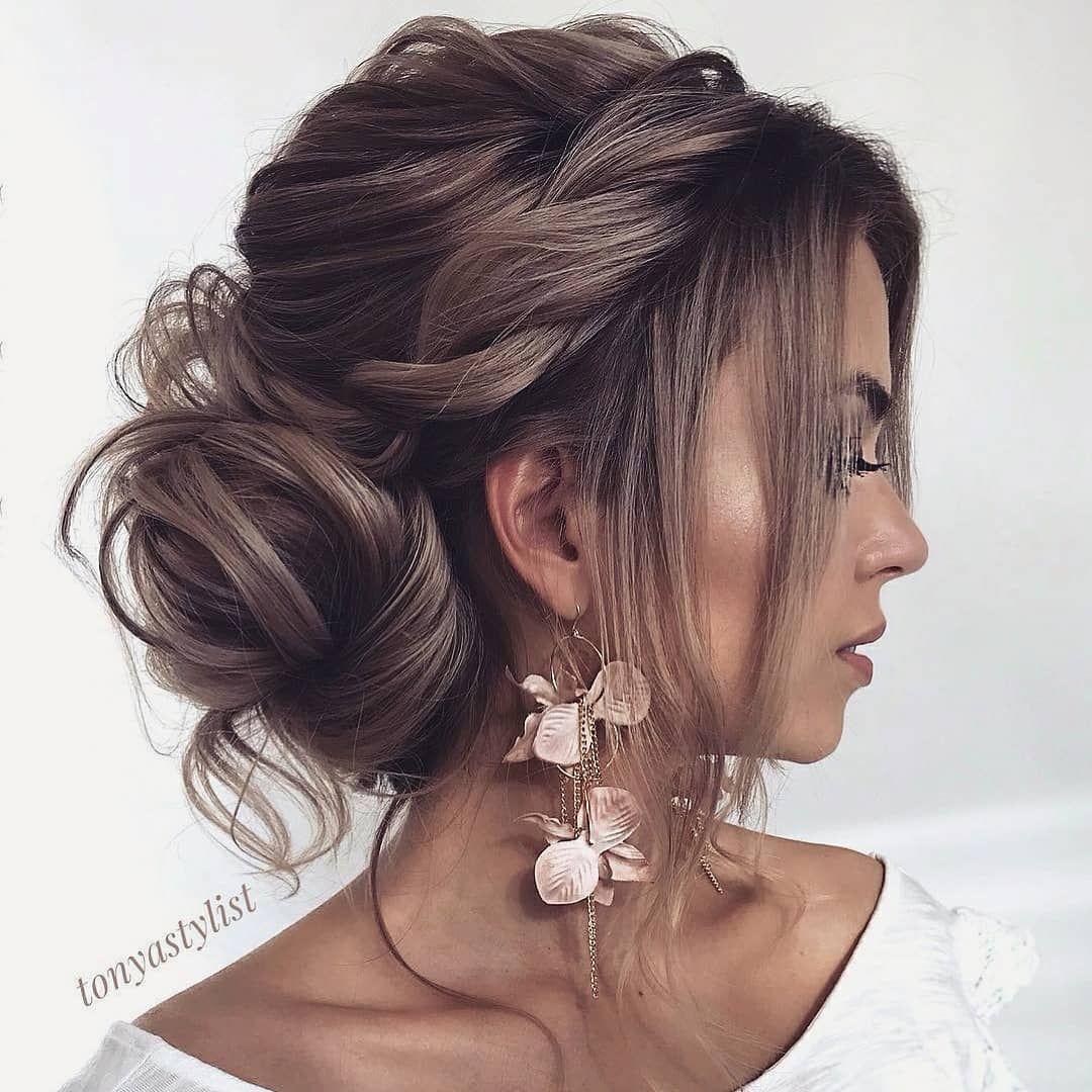 Invitada 10 On Instagram Siempre Un Recogido Es Mas Elegante Que El Pelo Sue Peinados Poco Cabello Peinados Con Pelo Recogido Peinado De Fiesta Cabello Corto