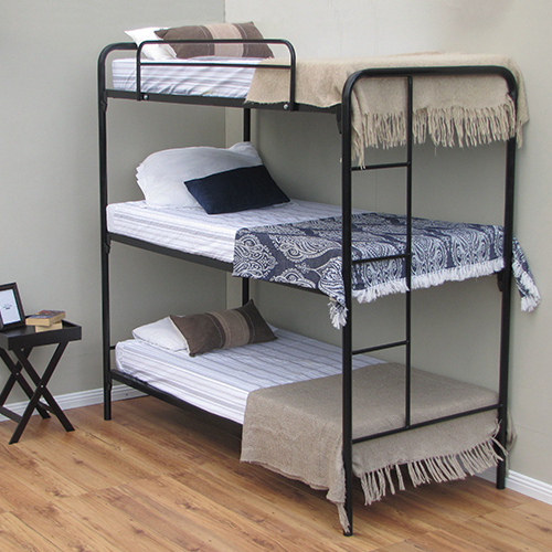 Triple Trundle Bunk Beds Ava Triple Bunk Bed Modern Bunk Beds
