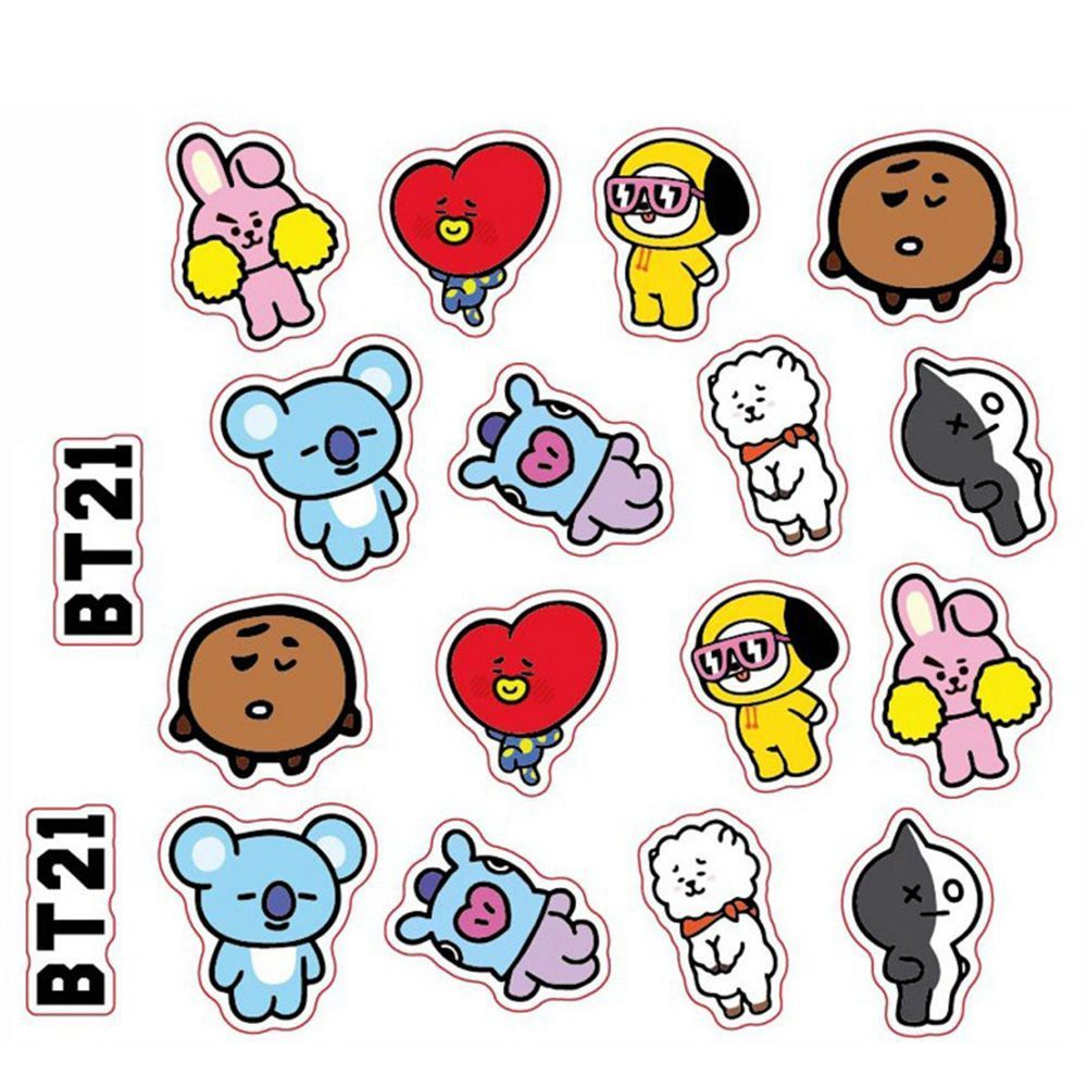 K Pop Bangtan Boys Bts Stickers For Laptop Phone Notebooks
