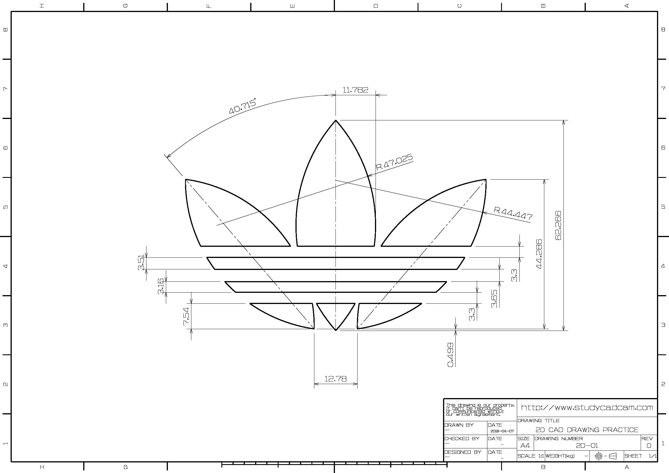 Adidas Originals Dibujos De Geometria Ejercicios De Dibujo Tecnicas De Dibujo