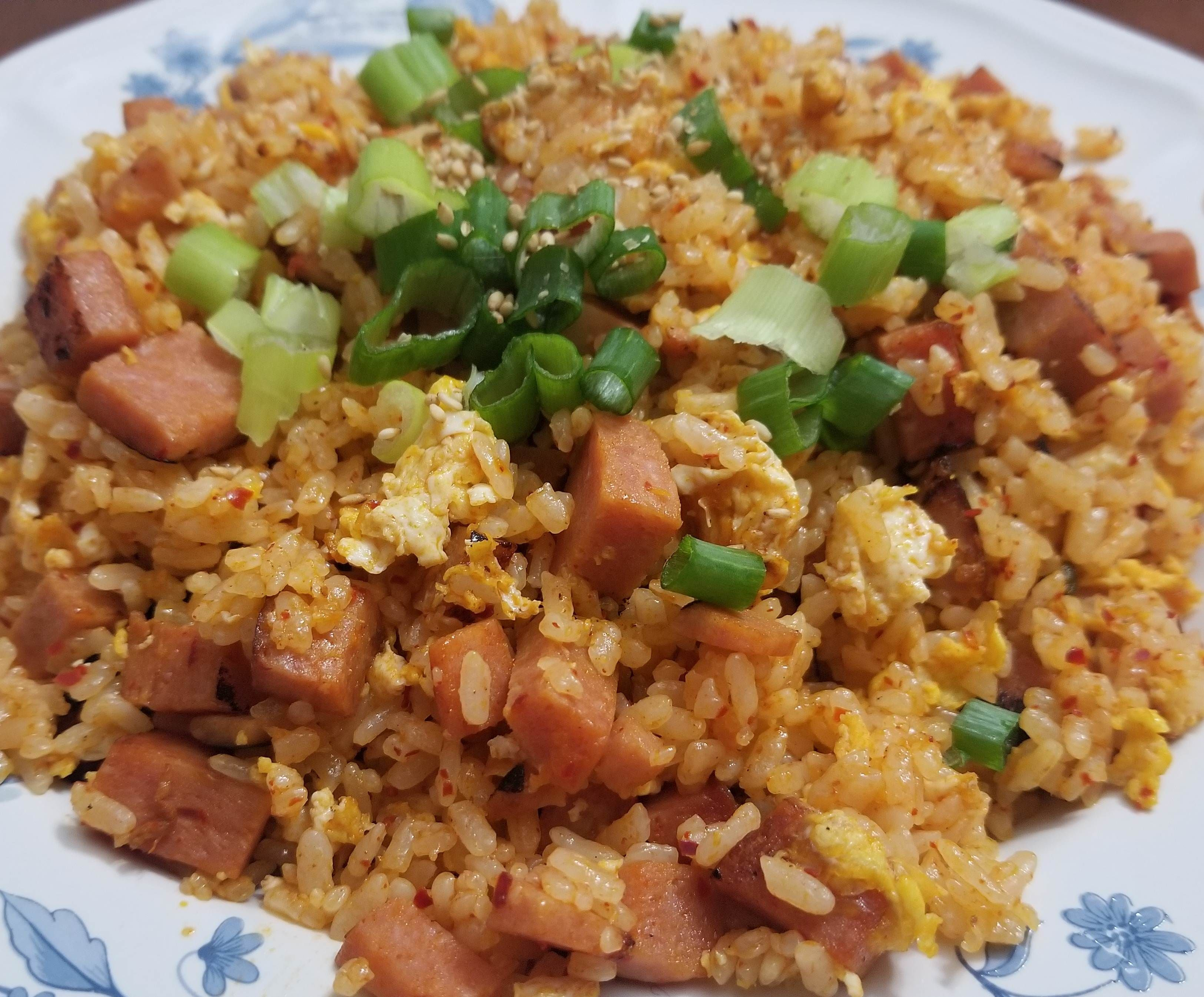 Fried Rice With Spam Recipe