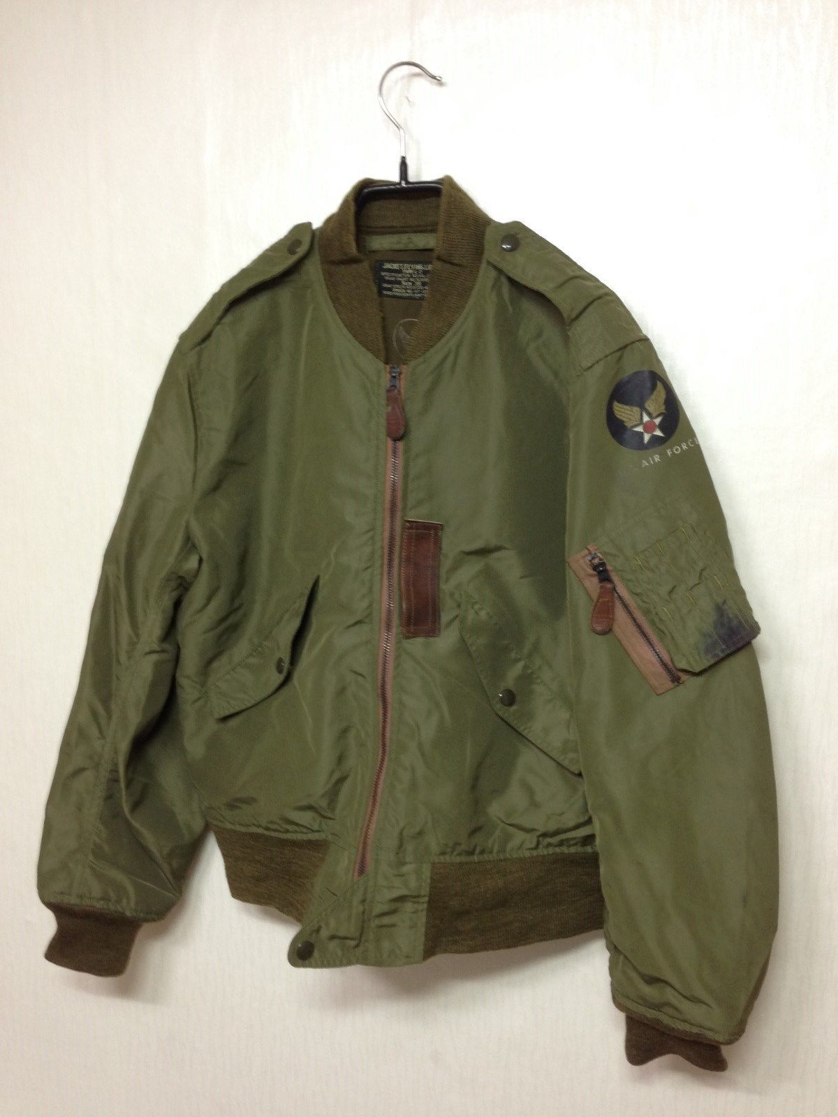 RARE Buzz Rickson 1950 s USAF L 2 Flying Jacket Repro Size 38 US Military  317f8a42472
