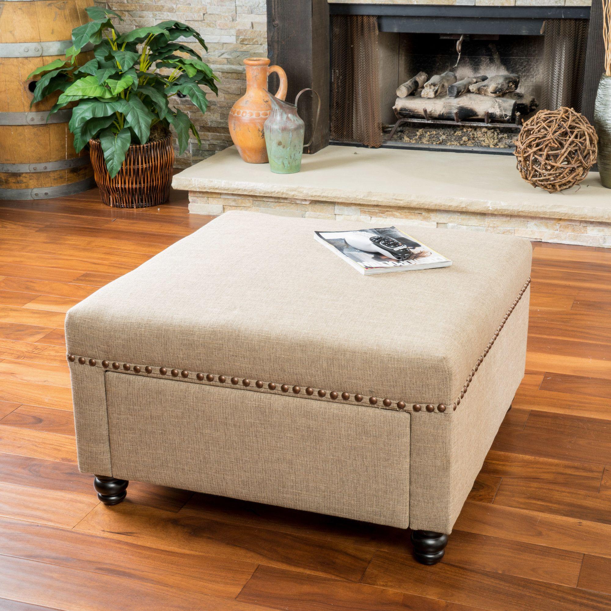 20+ Living room storage ottoman ideas
