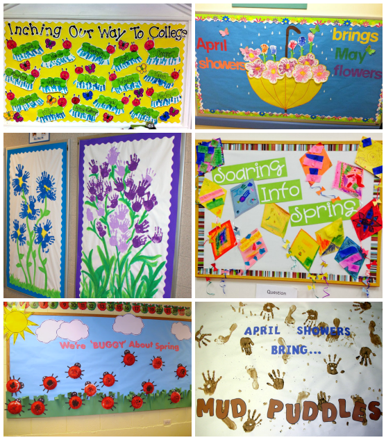 Spring Bulletin Board Ideas For The Classroom Spring Bulletin