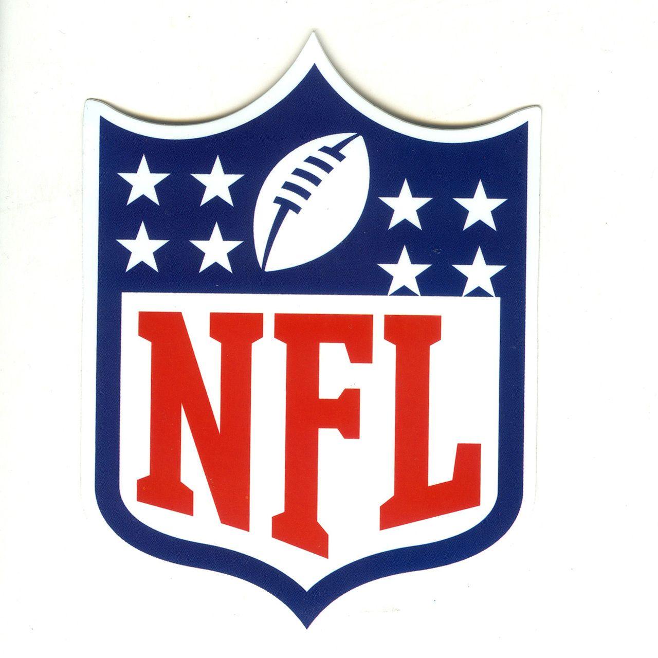 1467 Nfl Football Logo Heigth 10 Cm Decal Sticker Decalstar Com Nfl Logo Football League National Football League