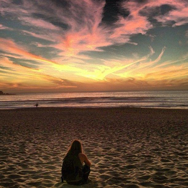 Taking in a #Bondi #sunrise this morning #Sydney #Australia