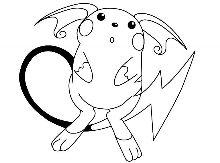 Raichu Coloring Page Cute K5 Worksheets Pokemon Coloring Pages Pokemon Coloring Pikachu Coloring Page