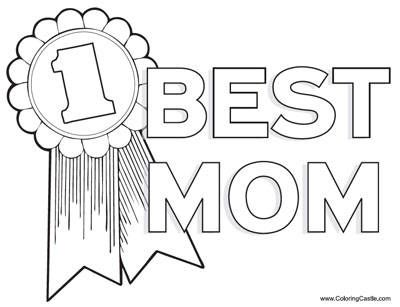 MOTHERS DAY COLORING PAGES may crafts Pinterest Happy