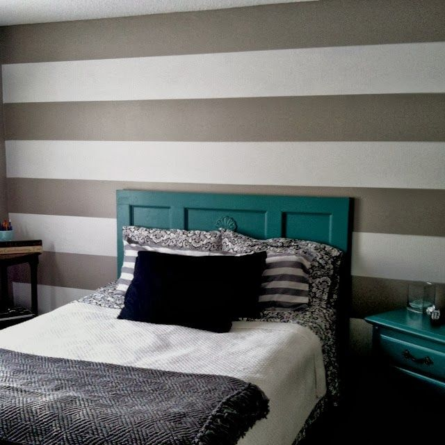 Pareti a righe fotogallery donnaclick colore pareti - Verniciatura a bagno ...