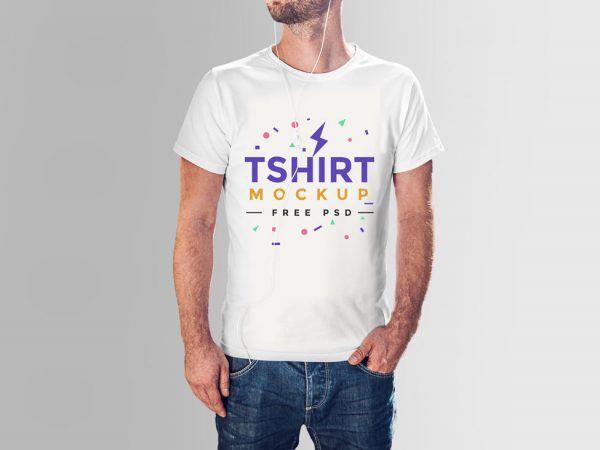 Download Male T Shirt Mockup Free Psd Mens Tshirts Tshirt Mockup Shirt Mockup