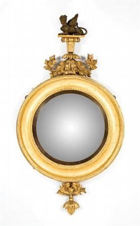 A stunning Regency Gilt Mirror from the estate of the late Keith ...