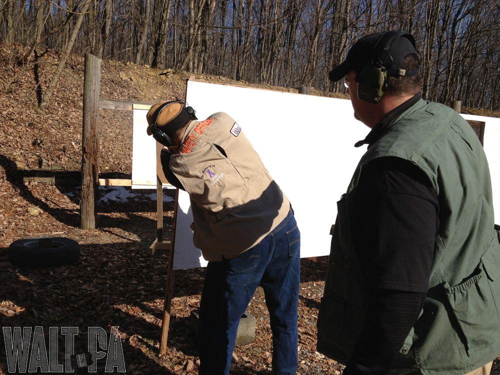 Shooting the January New Holland IDPA Match New holland