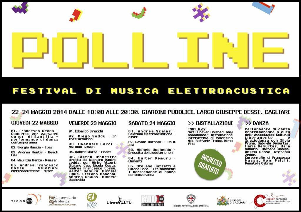 1° EDIZIONE FESTIVAL POLLINE GIARDINI PUBBLICI