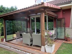 Porch Cerrado Con Vidrio Logrando Un Nuevo Lugar De Star