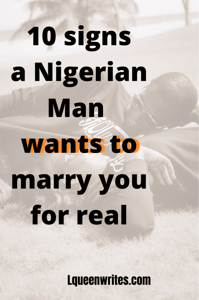 Looking for a nigerian man to marry