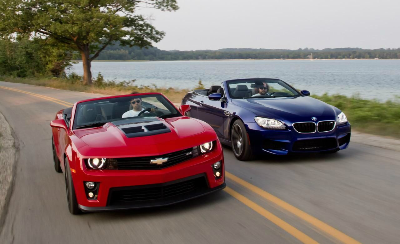 Reasons Why American Muscle Cars Are Better Than European Sports - New american sports cars