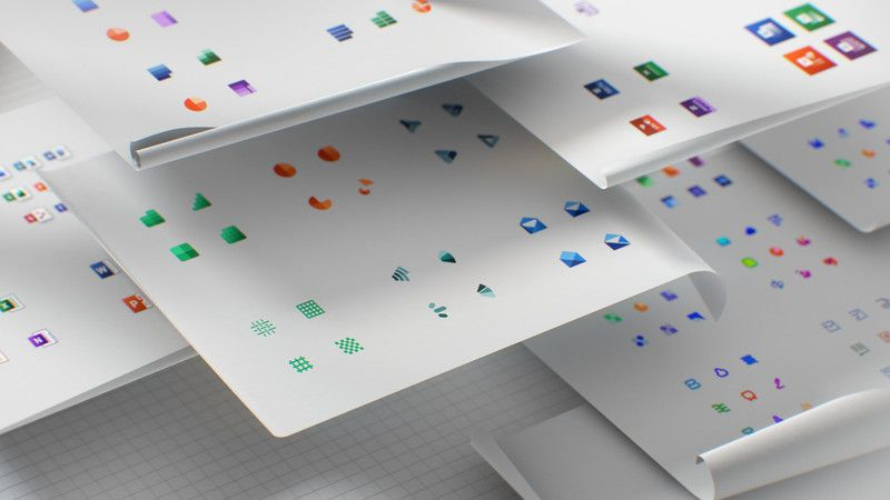 Microsoft has unveiled new icons for its Office programs