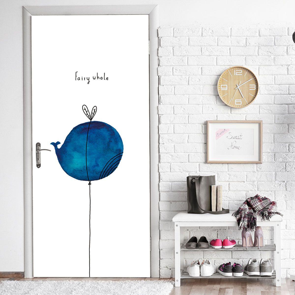 Cartoon Dolphin Balloon Sticky Door Decor Balloon Affiliate Dolphin Cartoon Decor Adver Gallery Wall Home Decor Decor