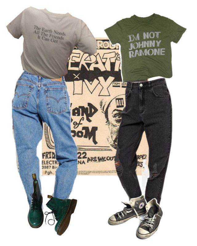 U0026quot;operation ivyu0026quot; by kampow liked on Polyvore featuring PalmerCash Dr. Martens Converse indie ...