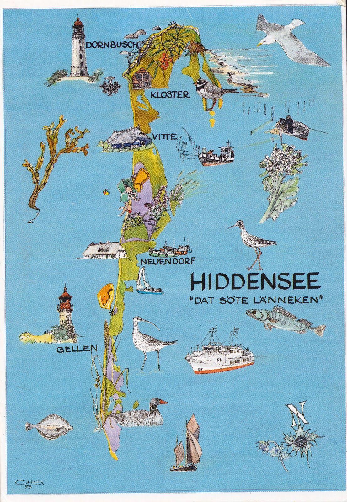 Hiddenseehiddensee Hiddensee Ostsee Rugen Wochenendurlaub