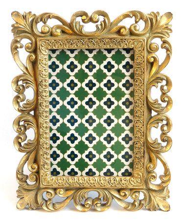 Another great find on #zulily! Gold Regal Frame #zulilyfinds ...