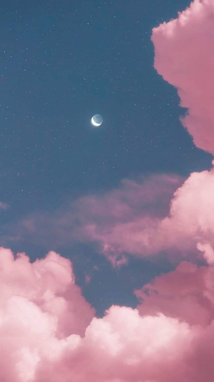 Two moon in the pink sky by matialonsor Two moon in the pink sky by matialonsor - art - Wallpaper