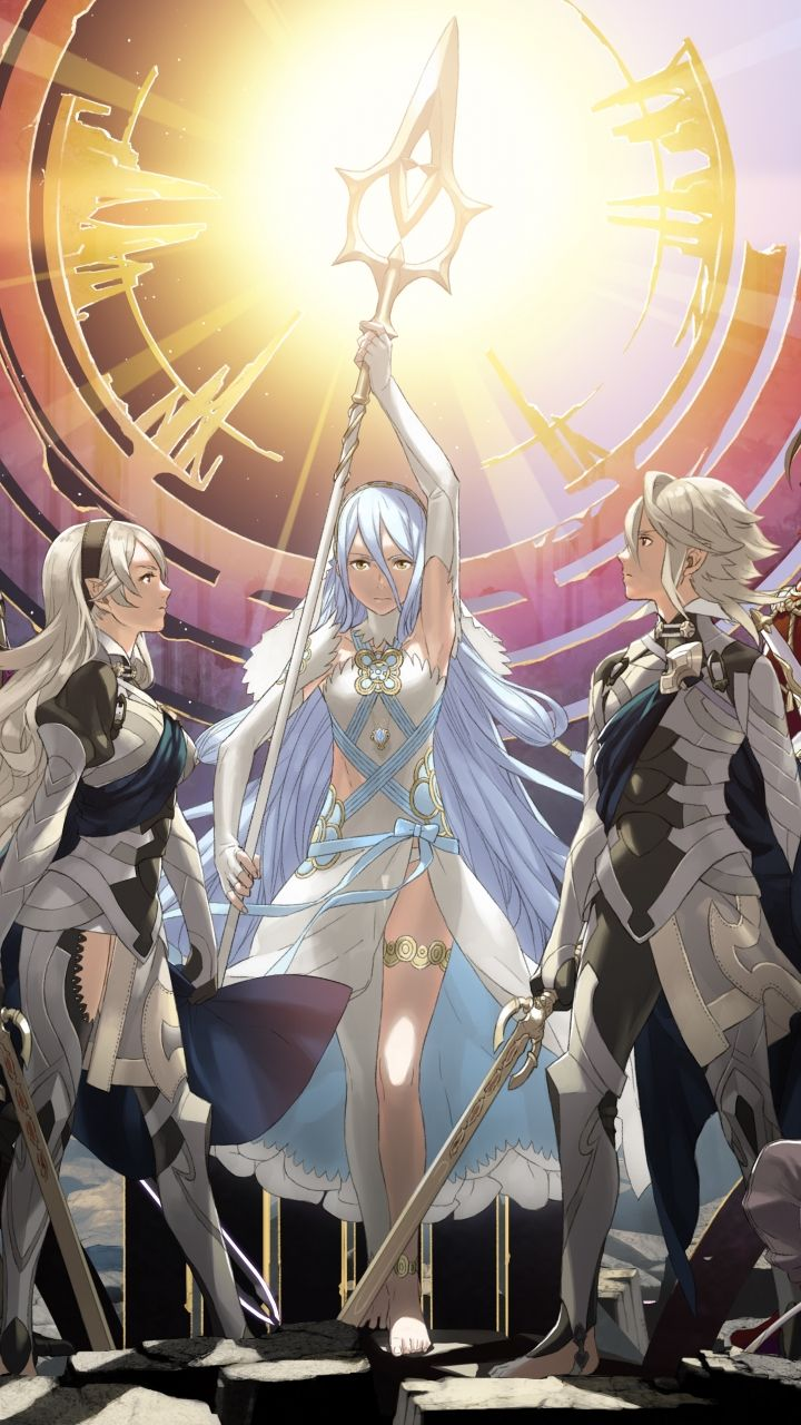 Fire Emblem Fates Apple Iphone 5 640x1136 8 Wallpapers