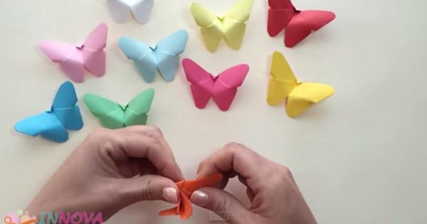 papillon origami vid o activit s manuelles pinterest papillon origami origami et papillon. Black Bedroom Furniture Sets. Home Design Ideas