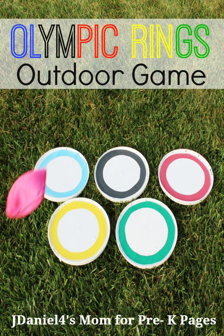 Olympic Rings Outdoor Game Pre K Pages Olympic Games For Kids Olympic Crafts Kids Olympics [ 1104 x 736 Pixel ]