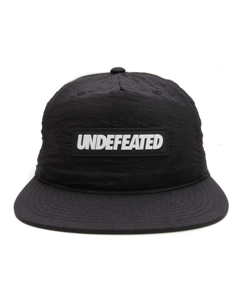 067904342 Undefeated - Sport Nylon Snapback Cap (Black) | Accessories - July ...