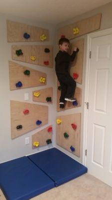 Do It Yourself Climbing Wall Kids Climbing Climbing