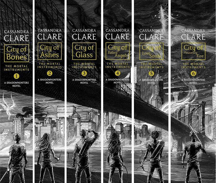 Image result for spines of the mortal instruments