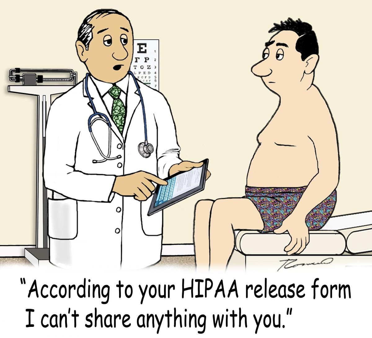I Just Love It The Myths Of Hipaa  Hr And Other Work Related