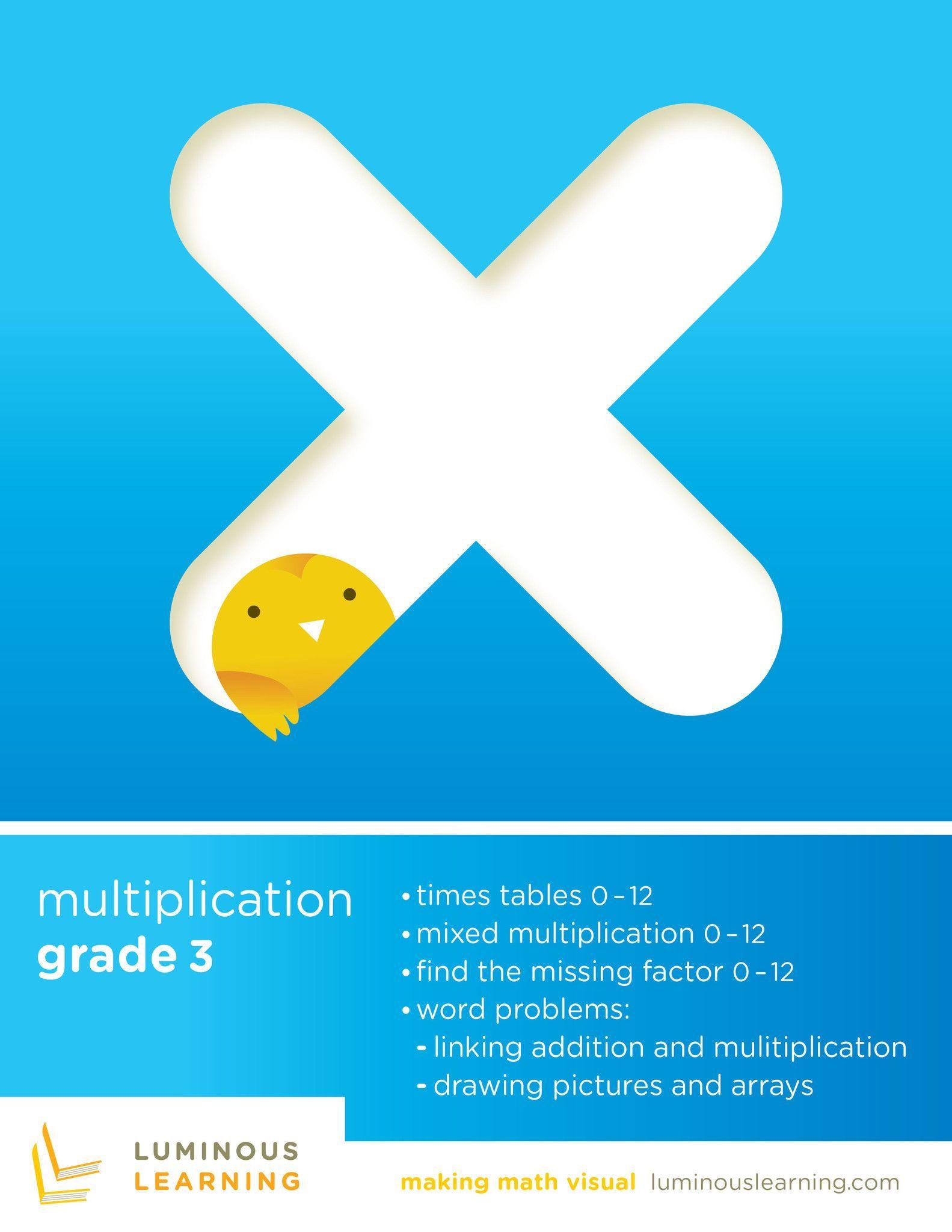 Grade 3 Multiplication E Workbook Making Math Visual