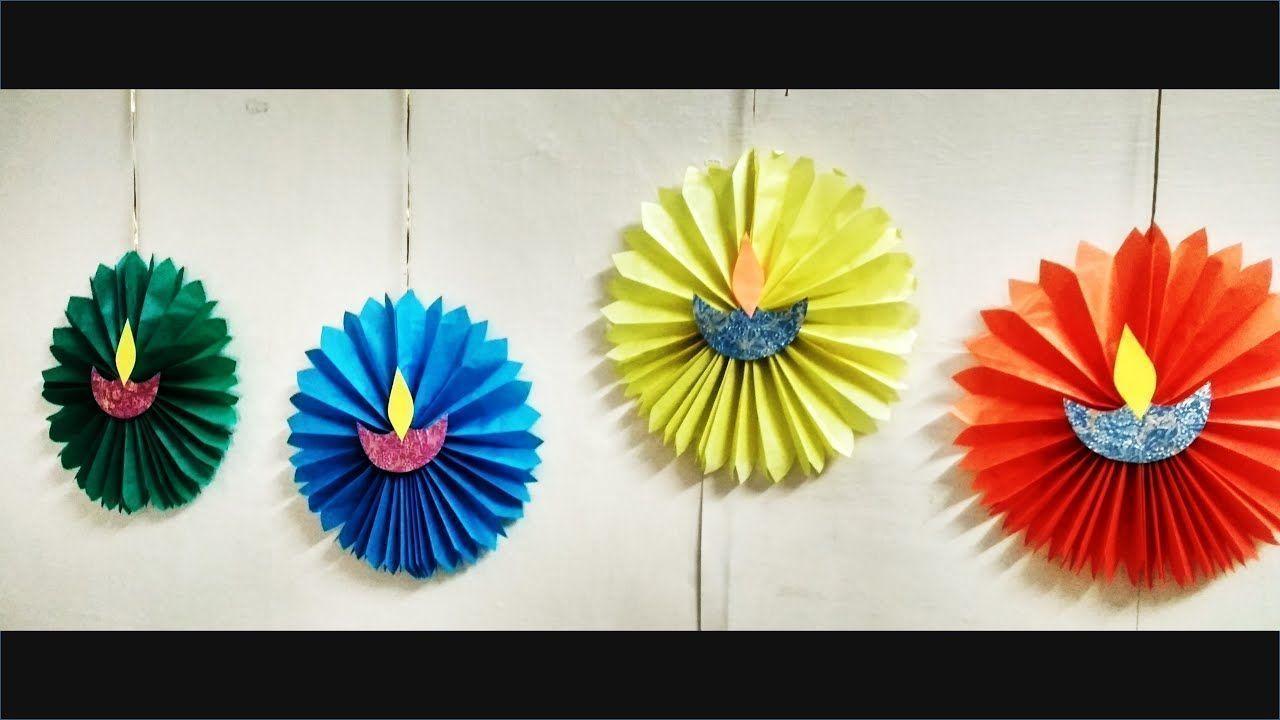 Einfache Diwali SCHULE / HAUS Dekoration Ideen l Diwali Dekoration DIY l Diwali Dekor #diwali...
