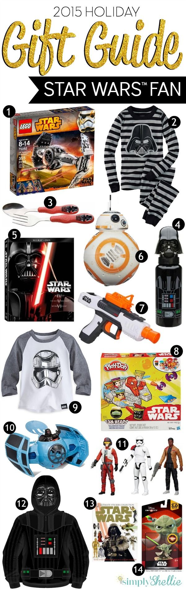 Gifts for the star wars fan fans star and gift diy stuff looking for the perfect star wars themed gift solutioingenieria Images