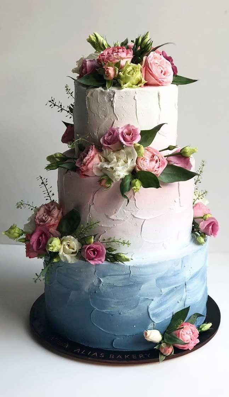 The Prettiest & Unique Wedding Cakes We've Ever Seen #cakedesigns