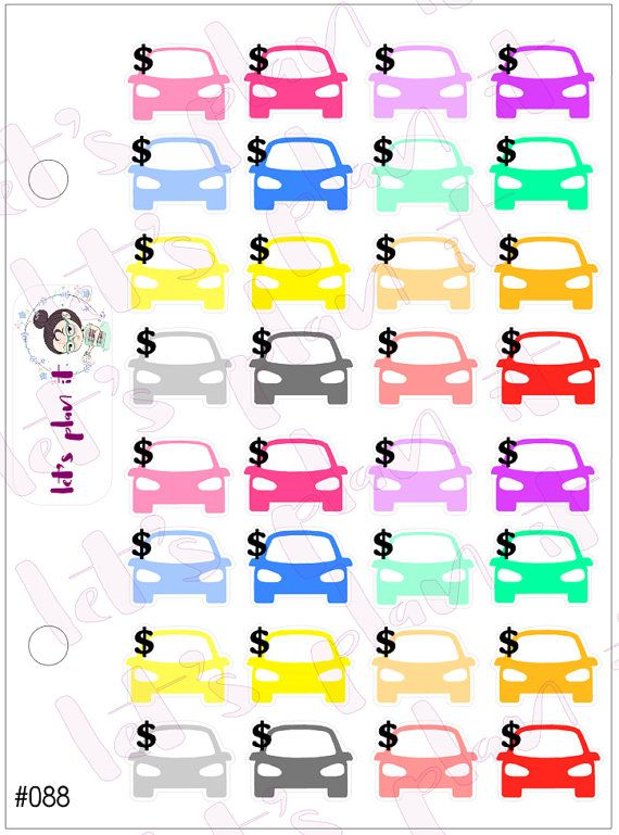 these are great for tracking payments and expenses These adorable - spreadsheet for monthly expenses