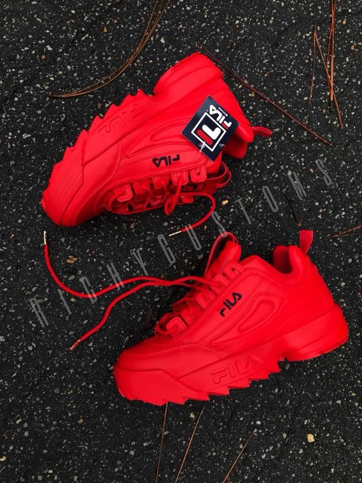 d889f0bc Blood REDDY FILA DISURUPTOR #womensshoes #shoes #nike #adidas ...
